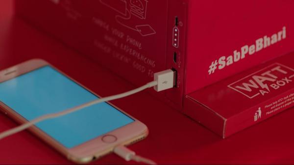 KFC-Indias-Watt-A-Box-includes-cellphone-charging-station
